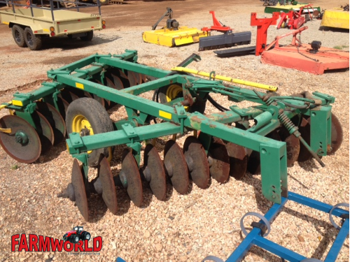 S2858 Green John Shearer 28 Disc Offset Hydraulic Harrow / 28 Skottel Hidroliese Dis Pre-Owned Implement