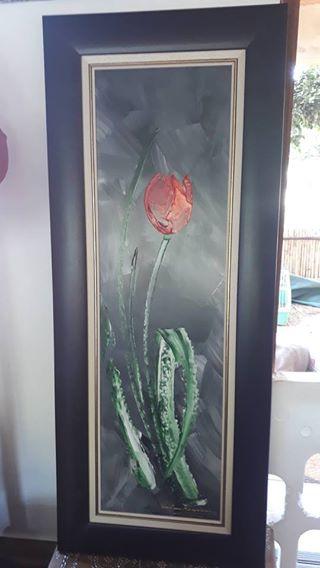 2 x Oil paintings