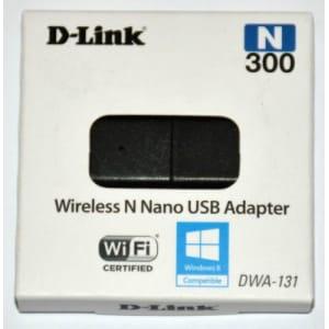 D-link DWA-131 Wireless WiFi N300 Nano USB