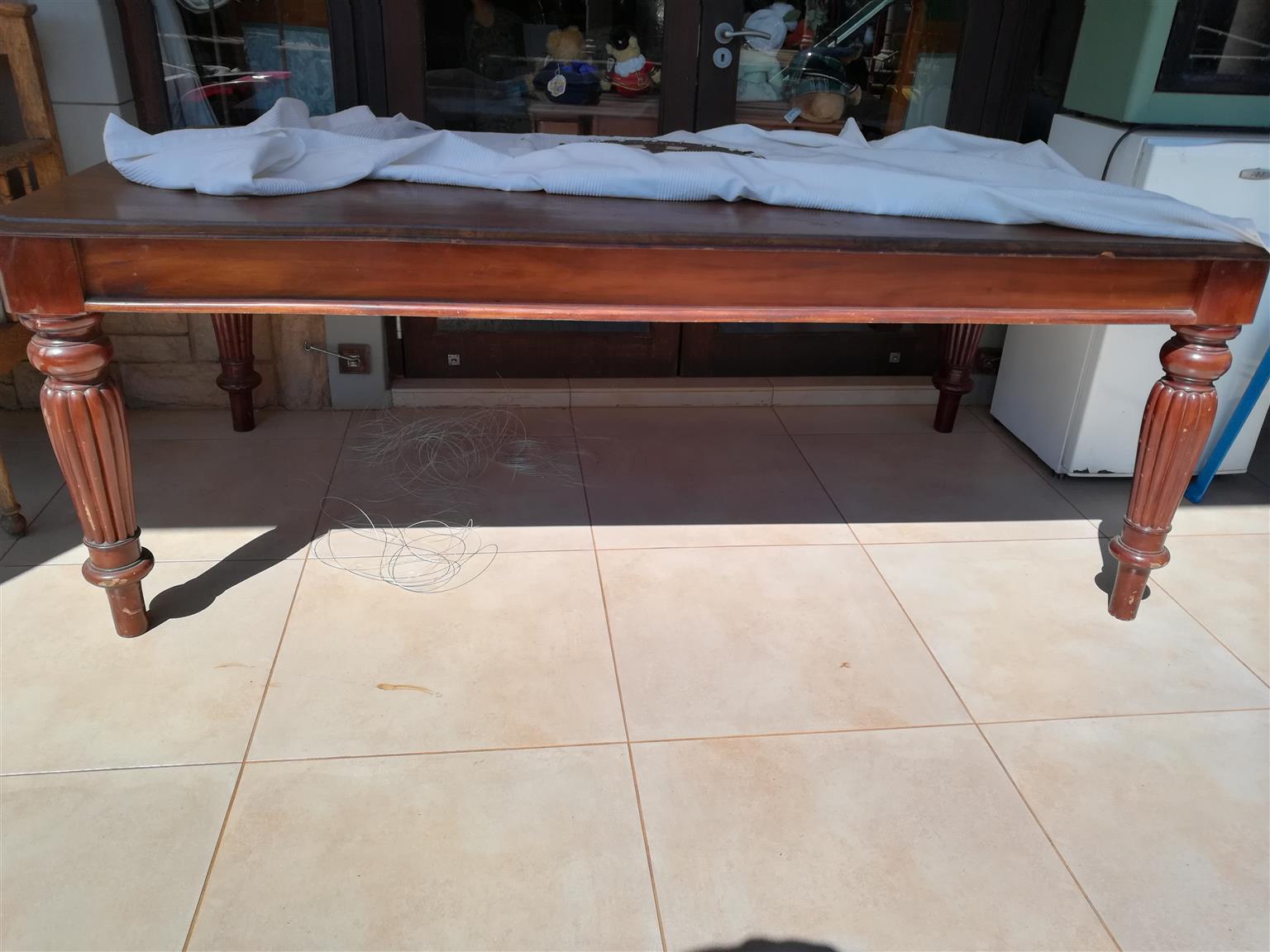 Antique Victorian Mahogany and Oak Tables