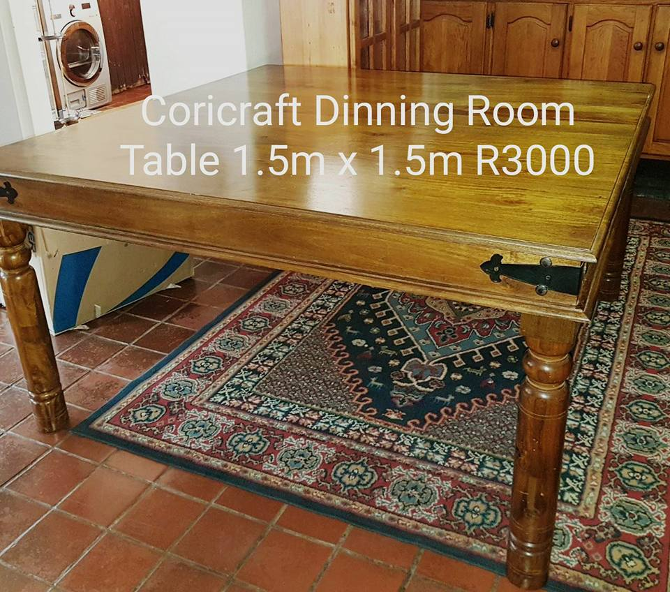 Coricraft dining room table