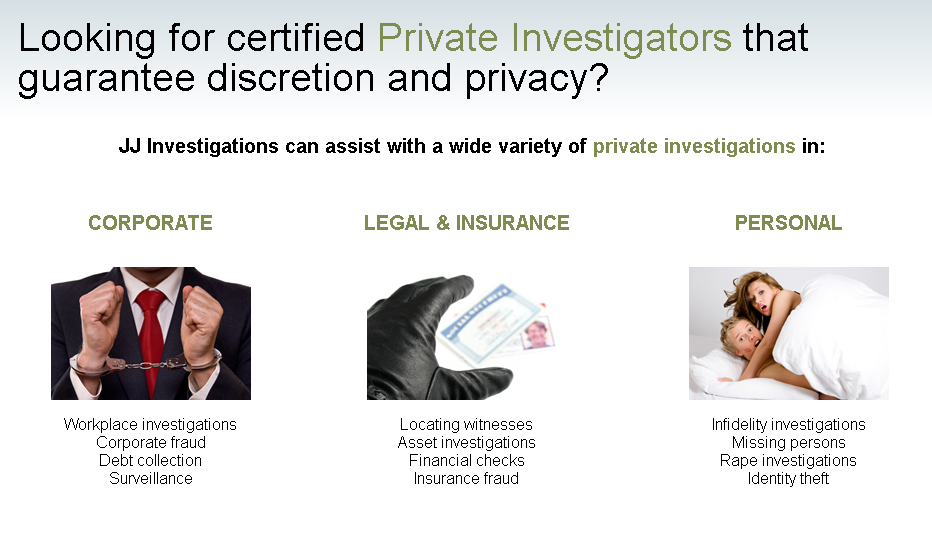 J.J.Private Investigators - Johannesburg - National & International