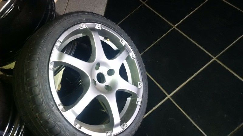 "17"" 4 holes mags and tyres #Cam Afrik"