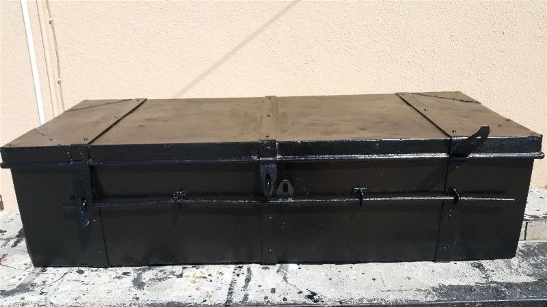 Large steel toolbox
