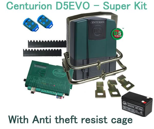 Centurion d5 evo gate motor installation special for Gate motor installation prices