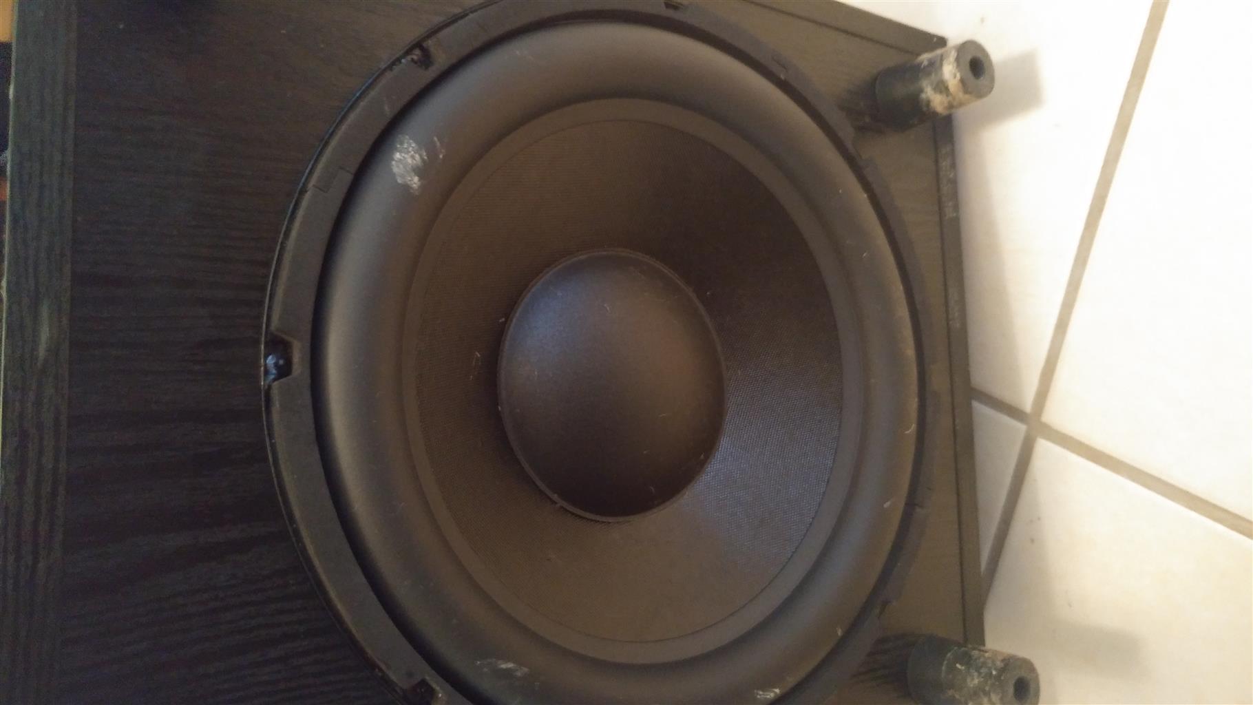 Floor Standing Speakers and Active Sub