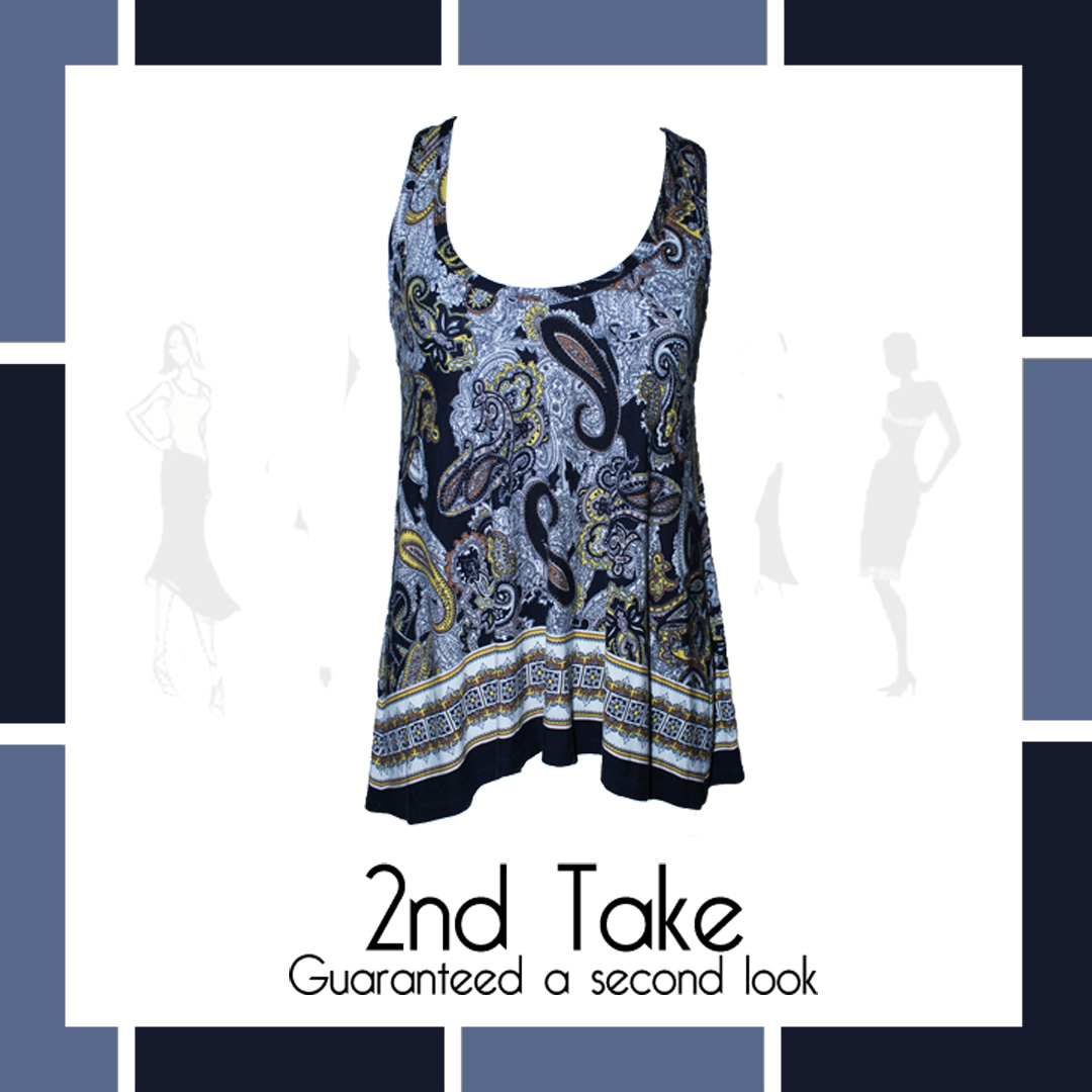 Affordable and on-trend designer summer tops now at 2nd Take!