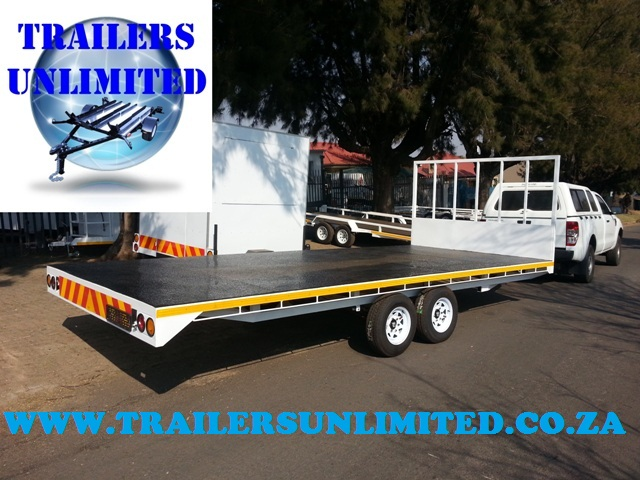 6000 X 2500 TRAILERS UNLIMITED FLATBED TRAILER.