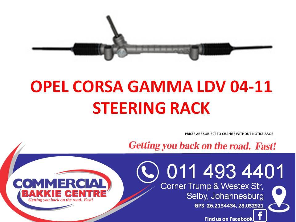 opel corsa gamma 04-11 steering rack | Junk Mail