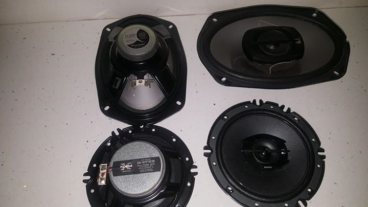 Pioneer 6x9's and Sony mids