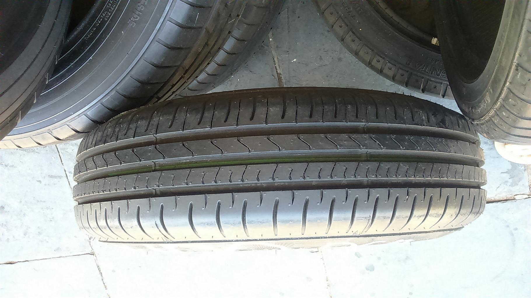"13""Mags and tyres 165/80/13""4x100pcd."