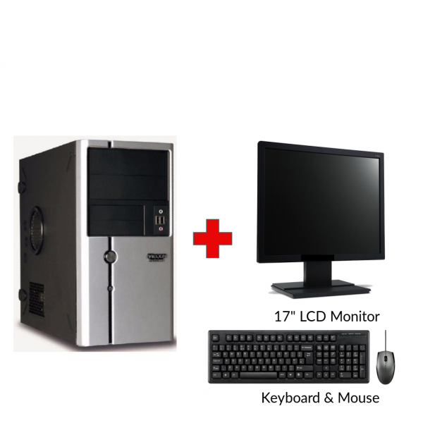 Mecer Core i3 Gen1 Tower PC