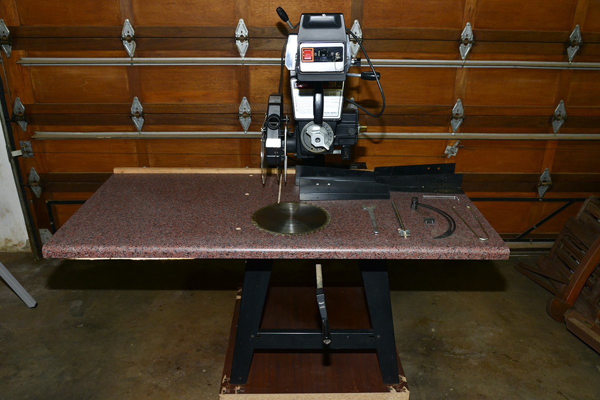 Ryobi RA-2500 254mm Radial Arm Saw (Excellent Condition)
