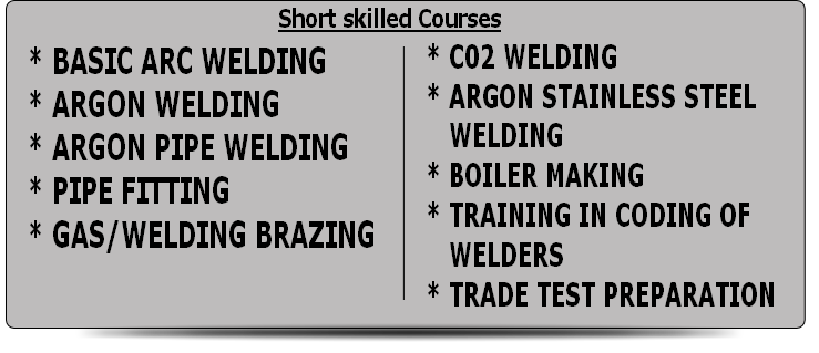 Plumbing training secondary plumbing Basic plumbing Carpentry training Welding training ^0110560195