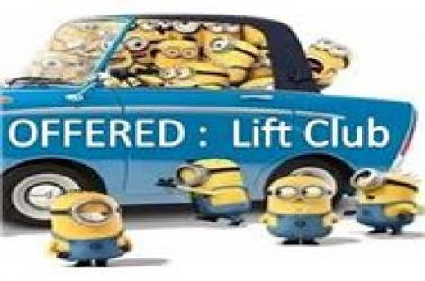 Lift club available