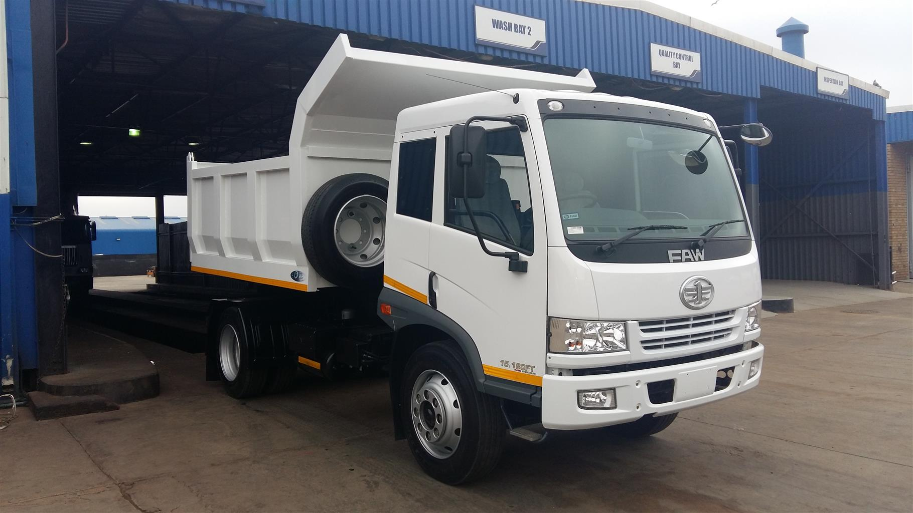 2018 FAW 8 Ton Complete With Dropside Body, Including Free 60000Km/1Year Service Plan Demo