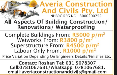 ALL ASPECTS OF BUILDING CONSTRUCTION