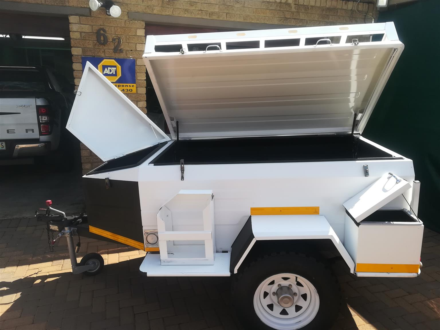 Off Road Trailers For Sale Used >> Heavy Duty Off Road Trailer With 15 Inch Wheels Junk Mail