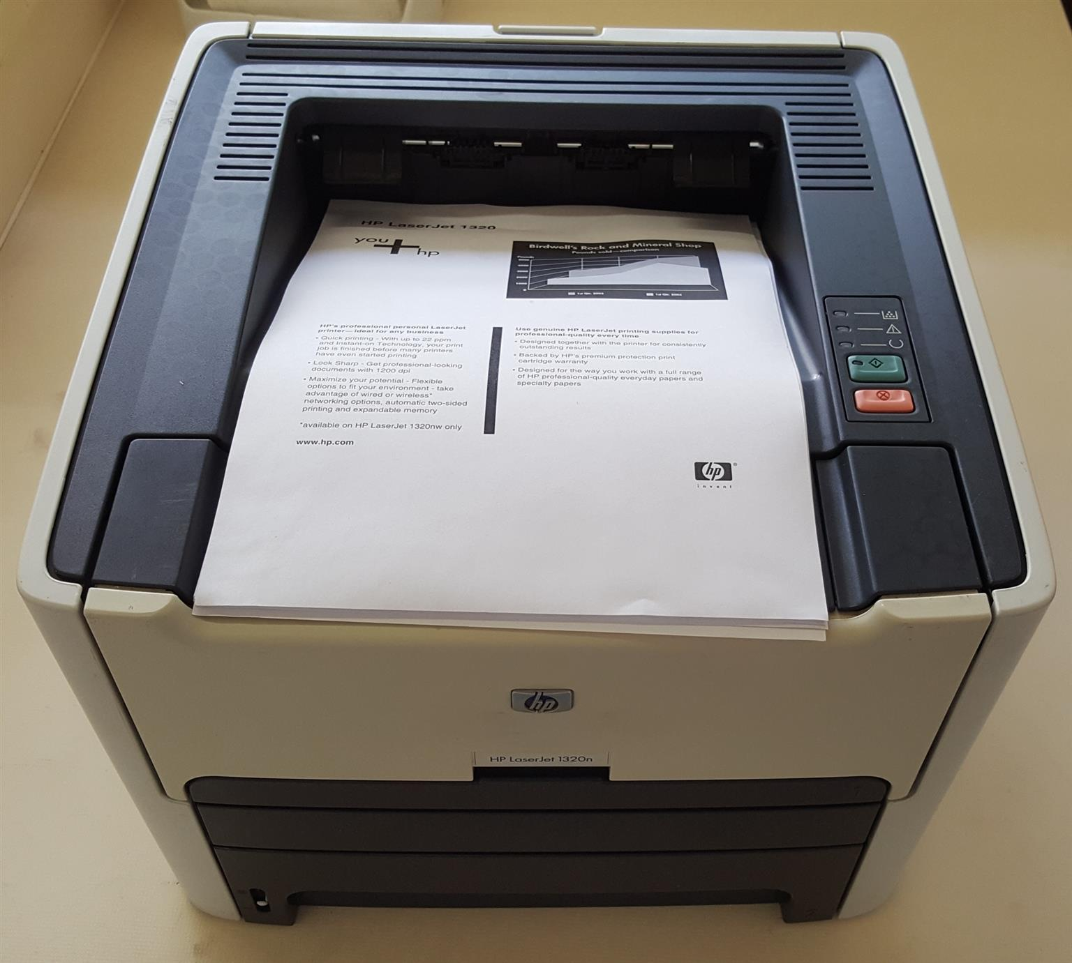 HP LaserJet 1320dn Mono Printer