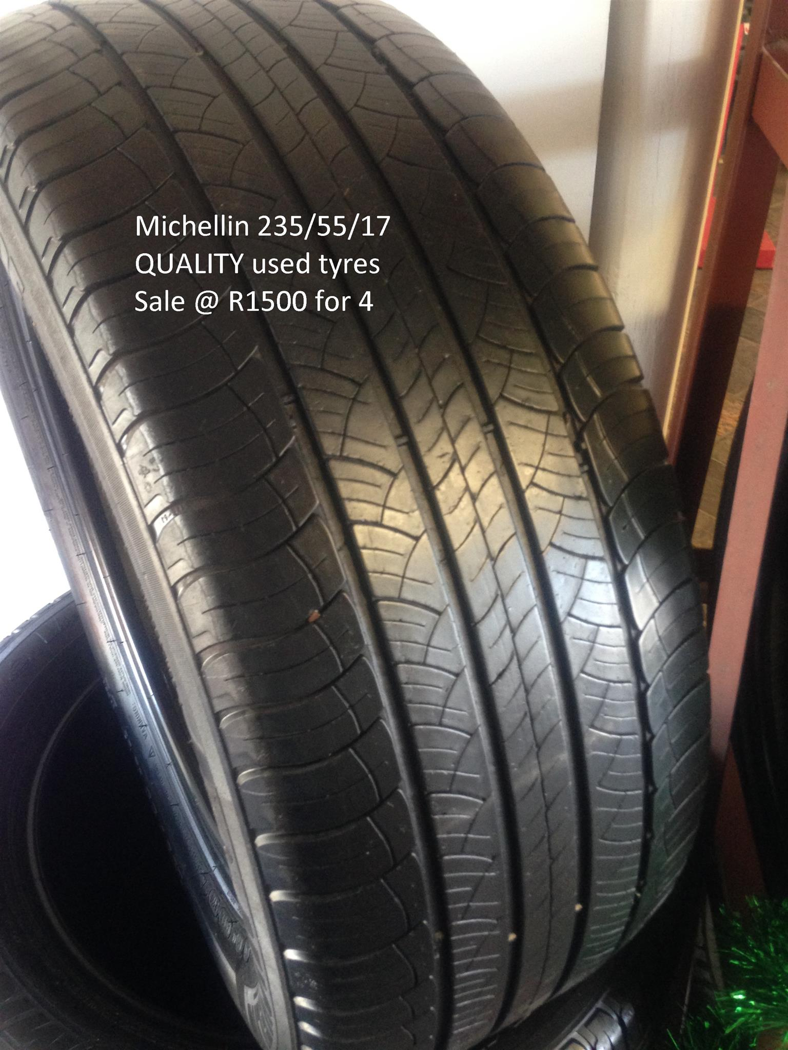 Sale Michelin 235/55/17