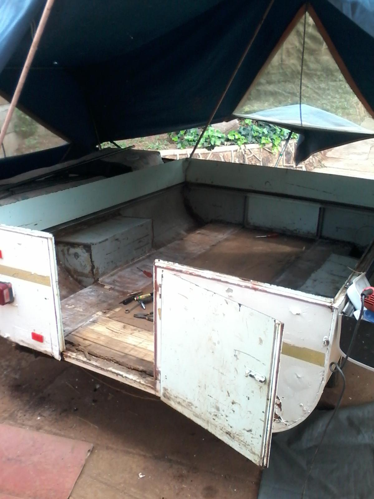 Popup caravan