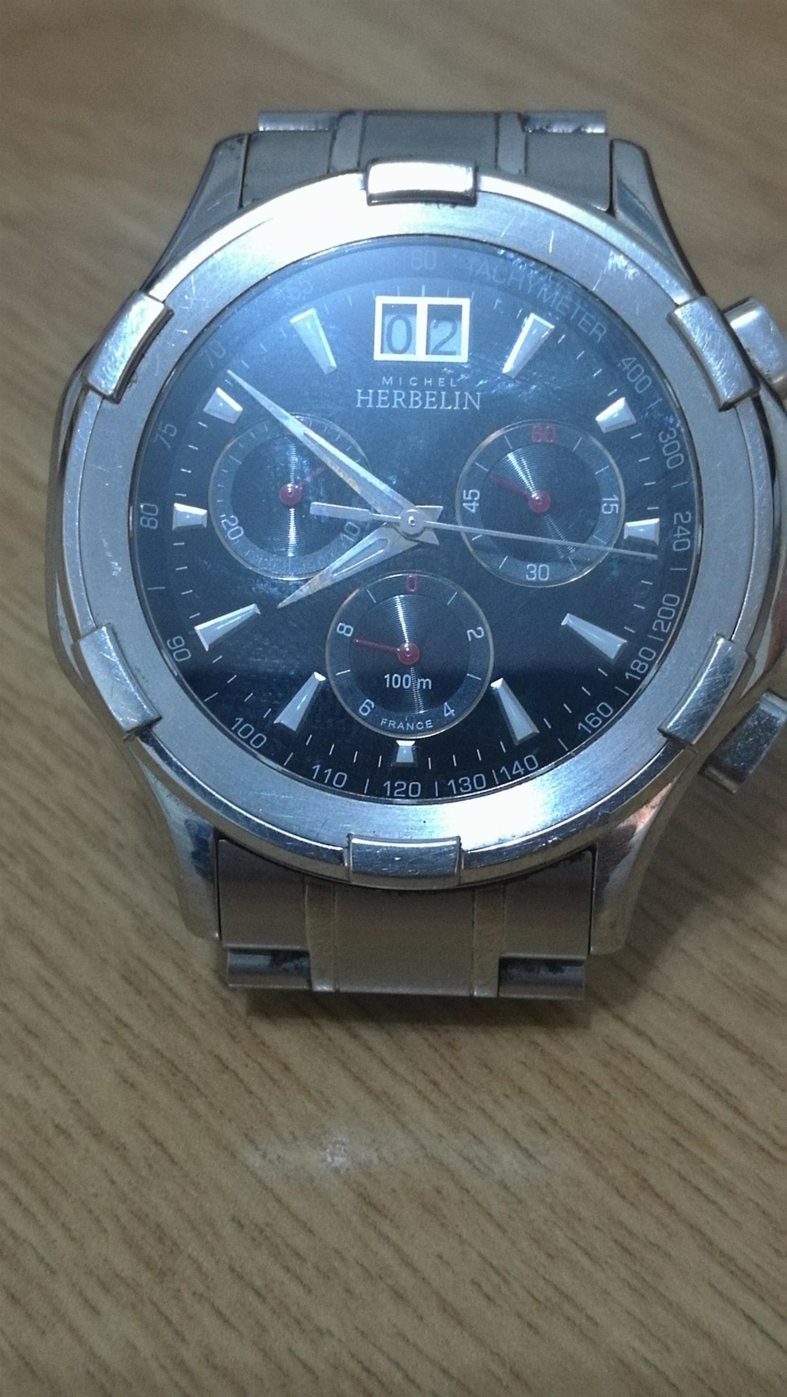 Michel Herbelin gents Chronograph Watch