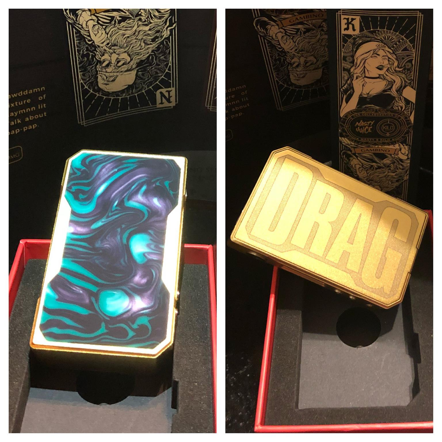 Brand New Gold Voopoo Mod for Sale