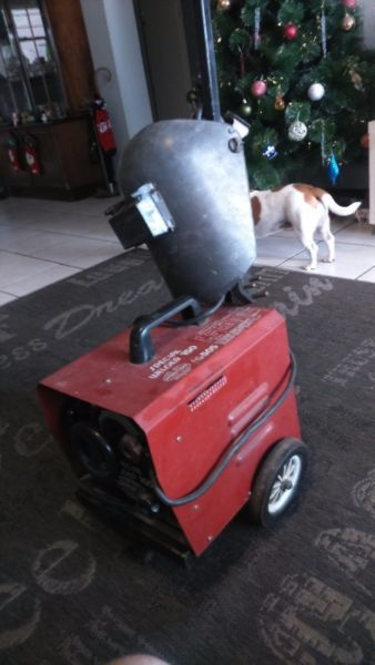 Welding Machine with trolley