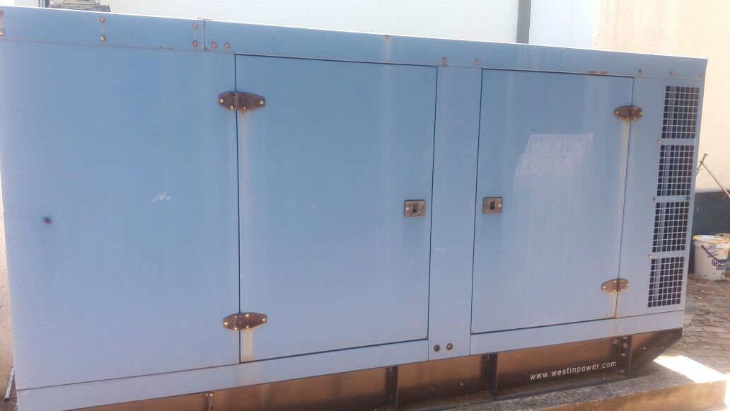 100 KVA WESTIN POWER GENERATOR SET LIKE NEW