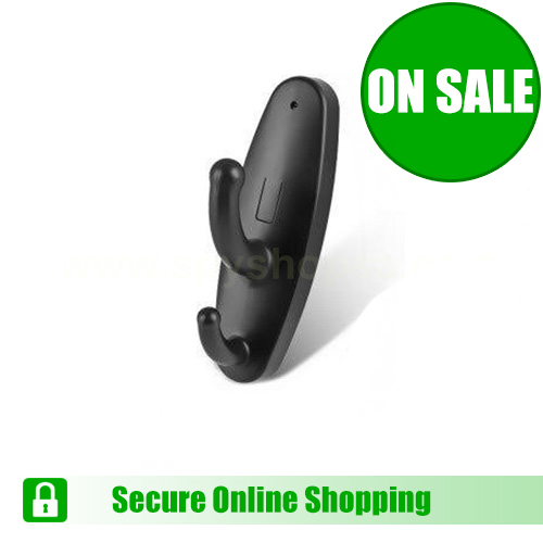 Clothes Hook Spy Camera with Audio and Video Recording is NOW available at Spy Shop SA!!!