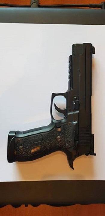 P226 blowback 4.5mm co2 pistol