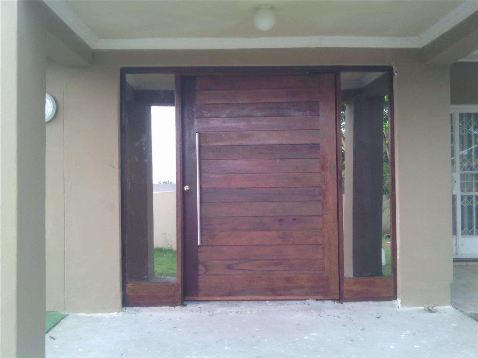 Door hanging services durban wood laminate flooring wooden doors pivot doors carpenter & Door hanging services durban wood laminate flooring wooden doors ...