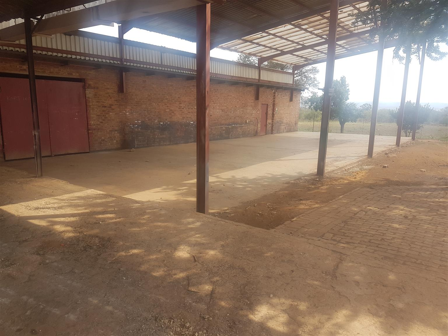 Factory space and land to let