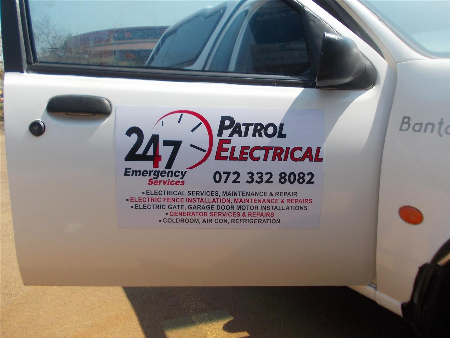 24/7 on time Centurion electricians 0723328082 no call out