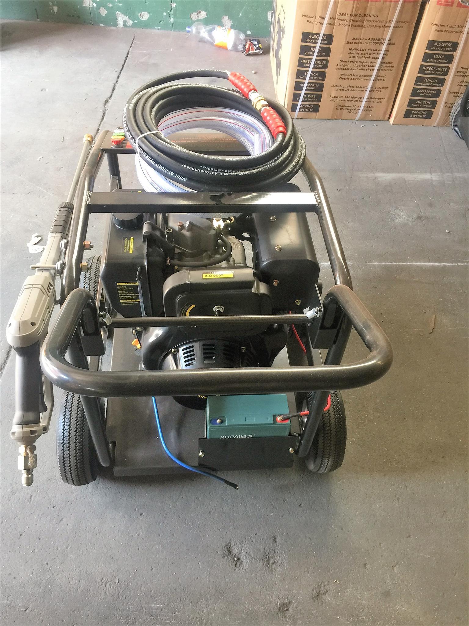 diesel high pressure washer specials