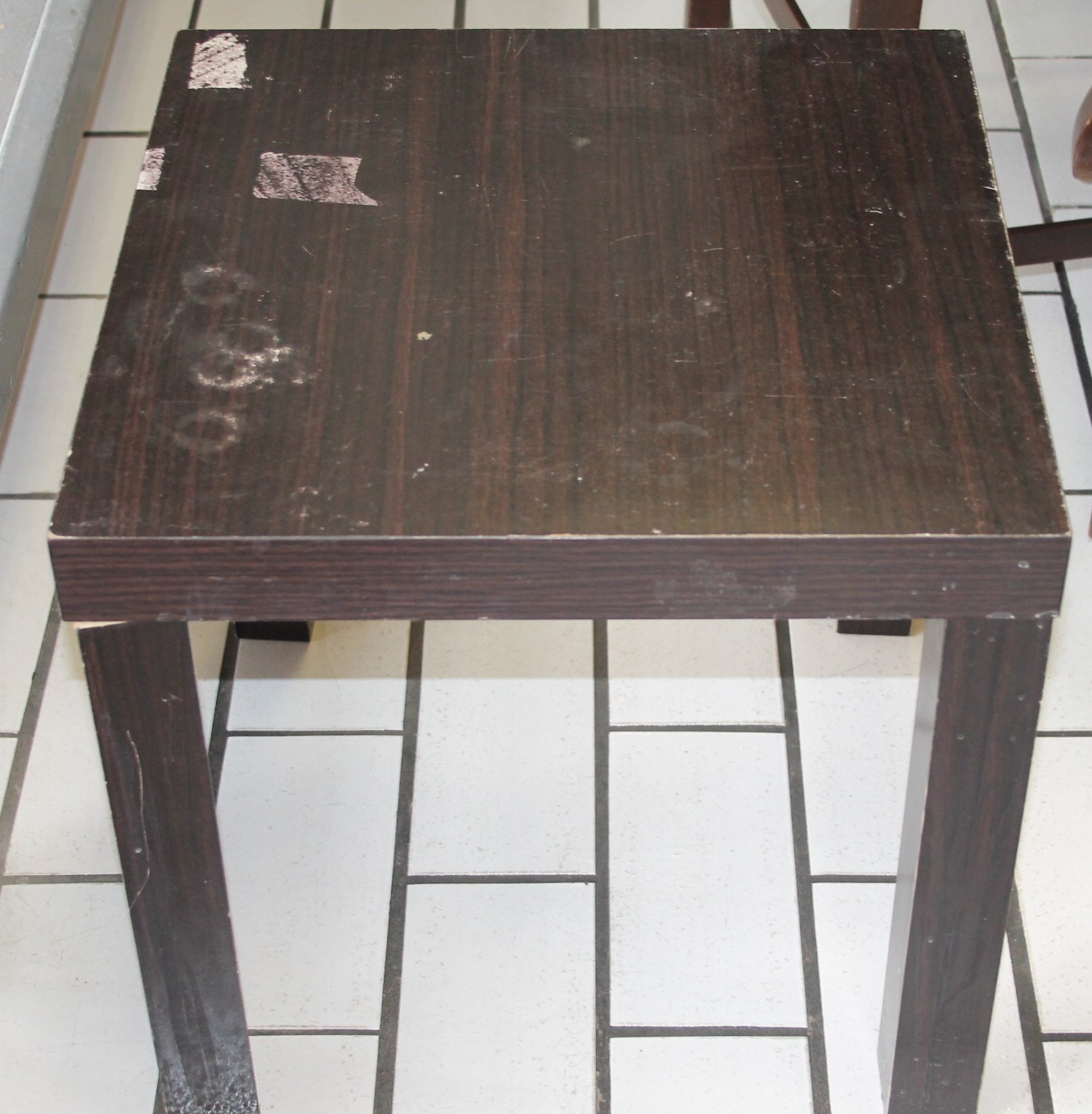 Brown side table S027887c #Rosettenvillepawnshop