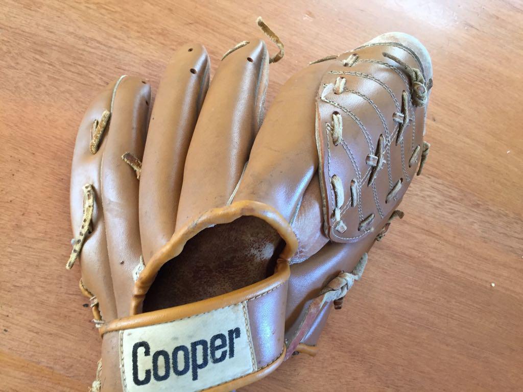 Cooper Rawhide 735 Leather Baseball glove