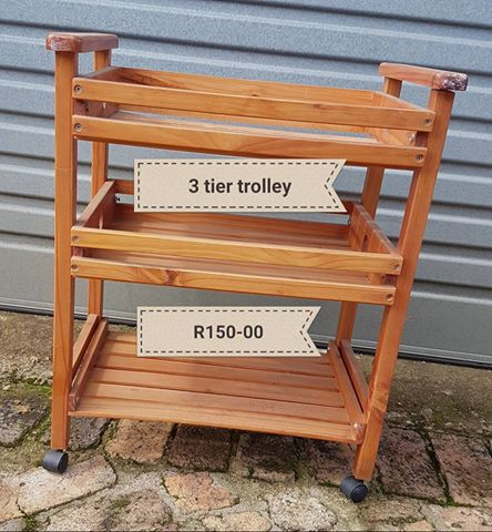 Three tier trolley  for sale