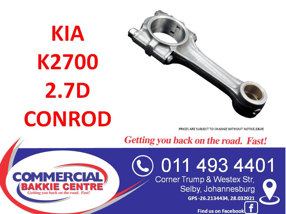 kia k2700 2.7d conrod
