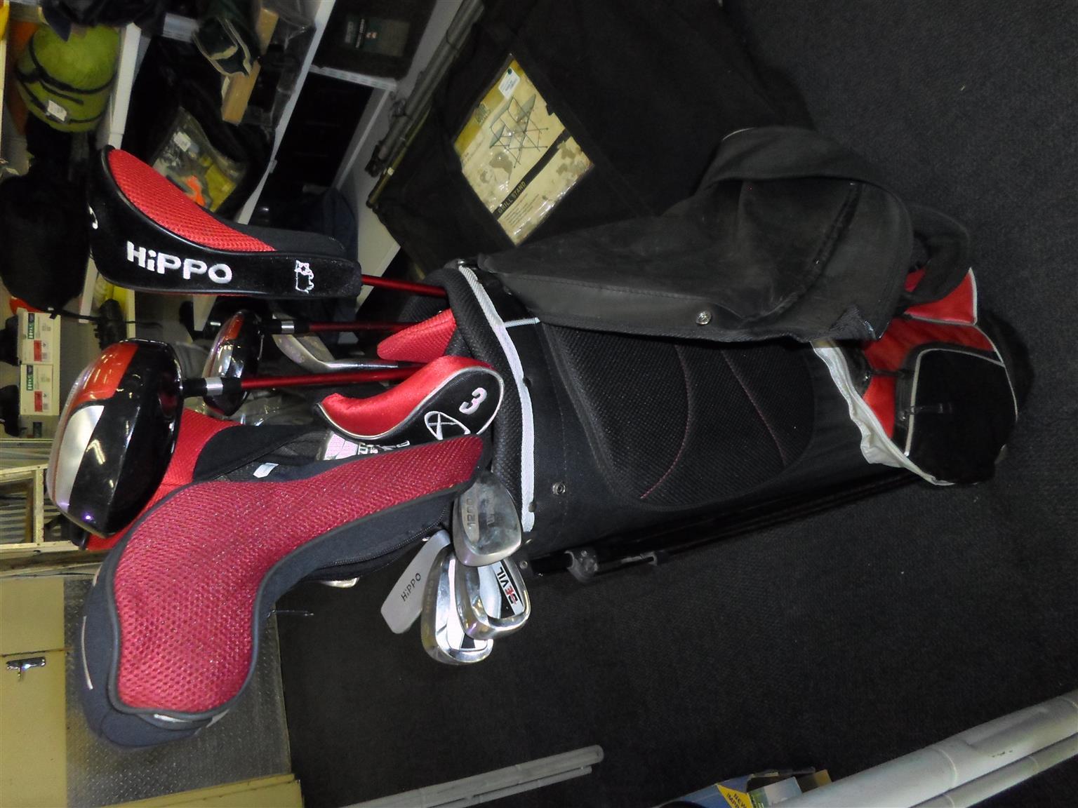 Set of 13 Hippo Golf Set