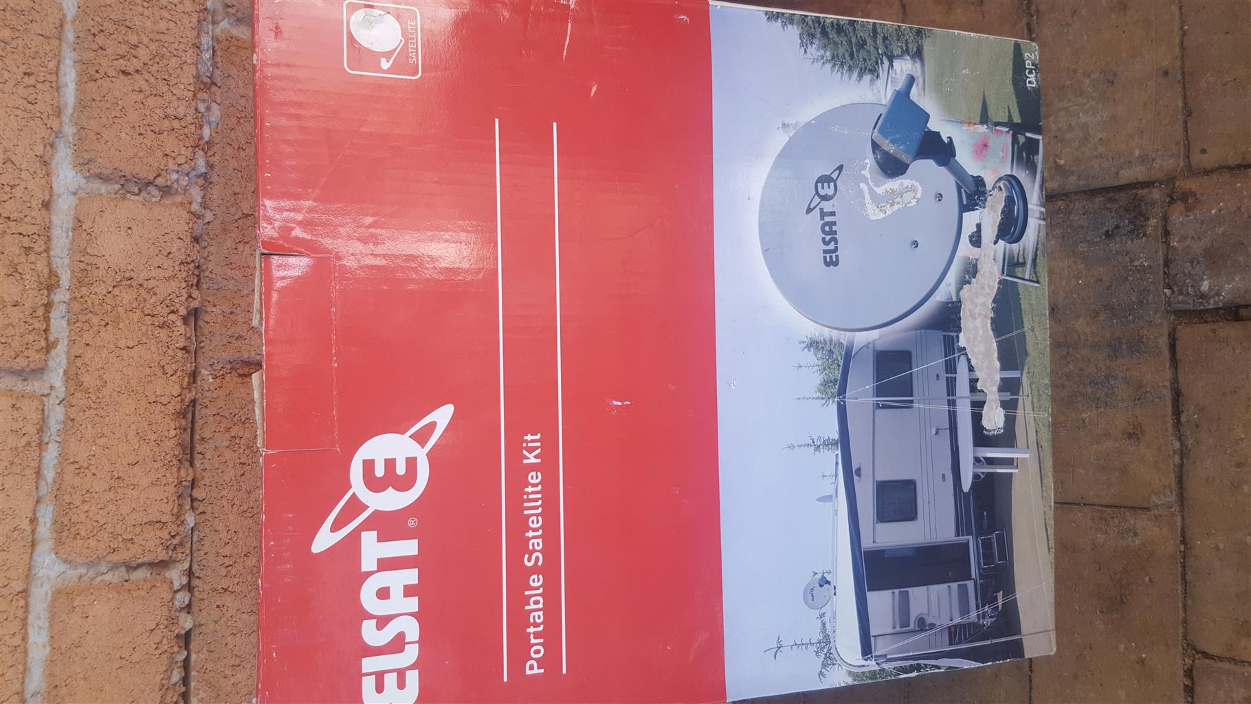 ELSAT Portable satelite kit