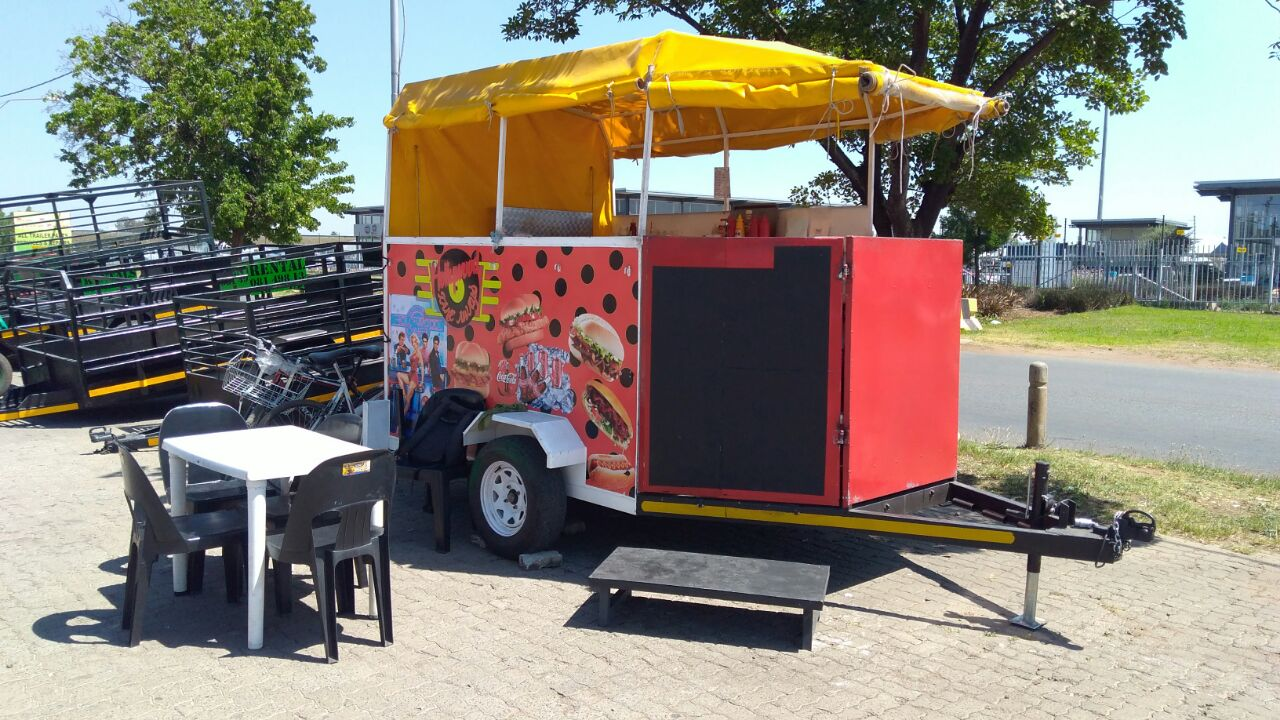 Food trailers by Bon Voyage Trailers