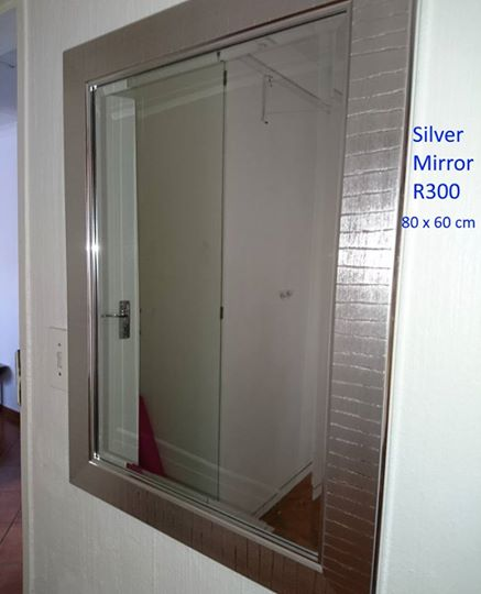 Silver mirror for sale