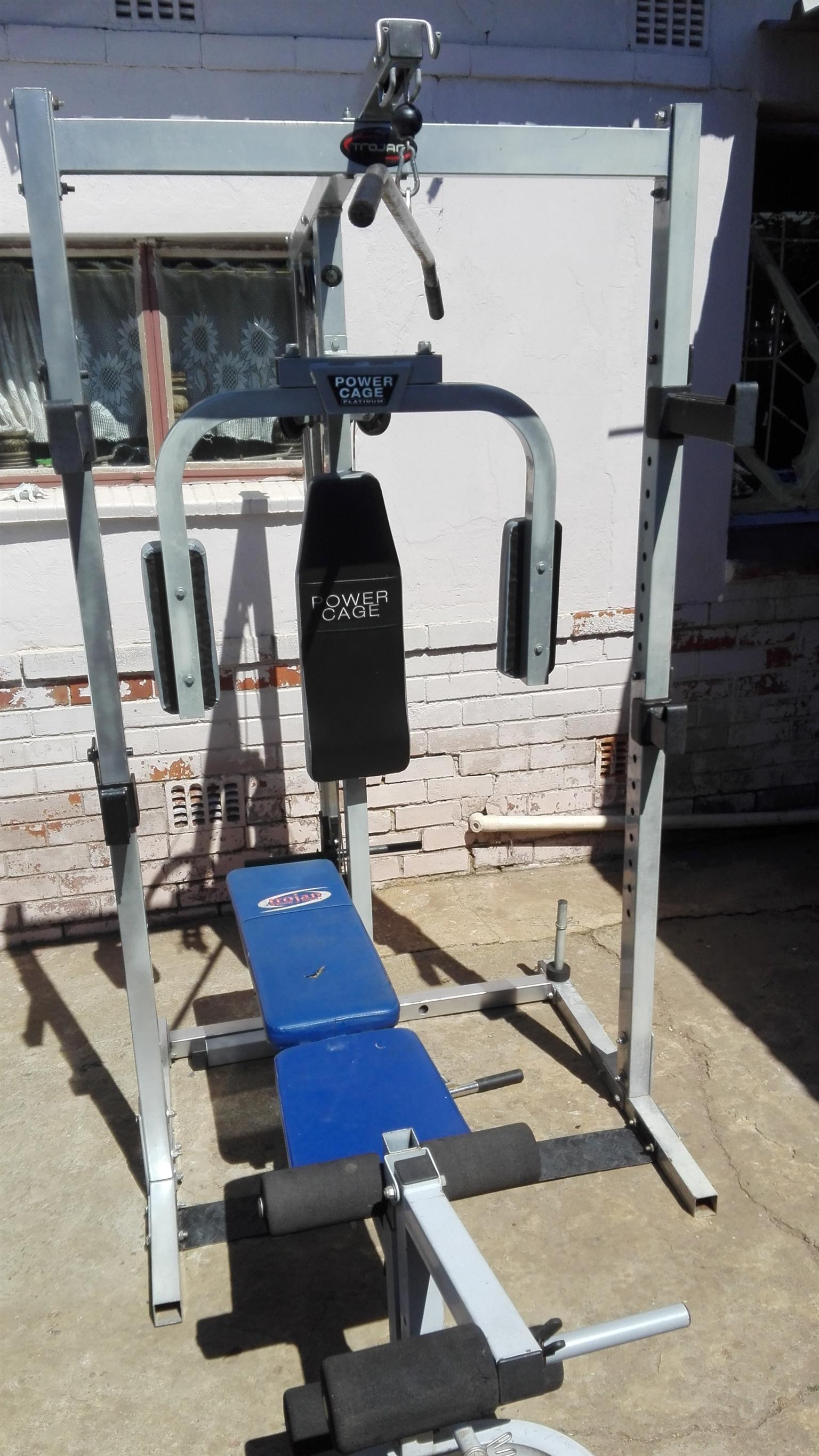 Trogan Powercage + Bench