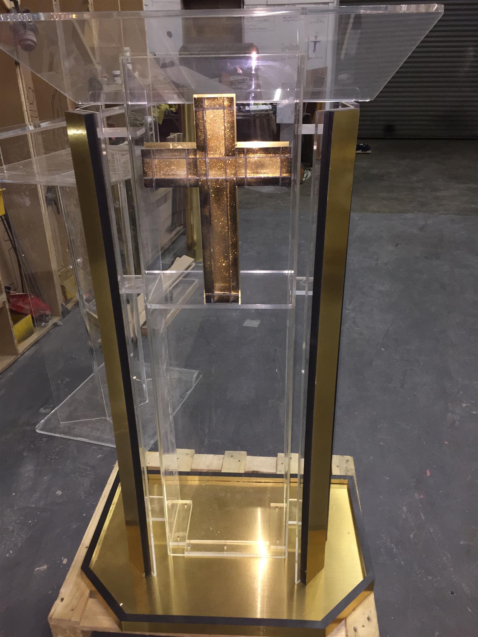 Gold Panels Pulpits
