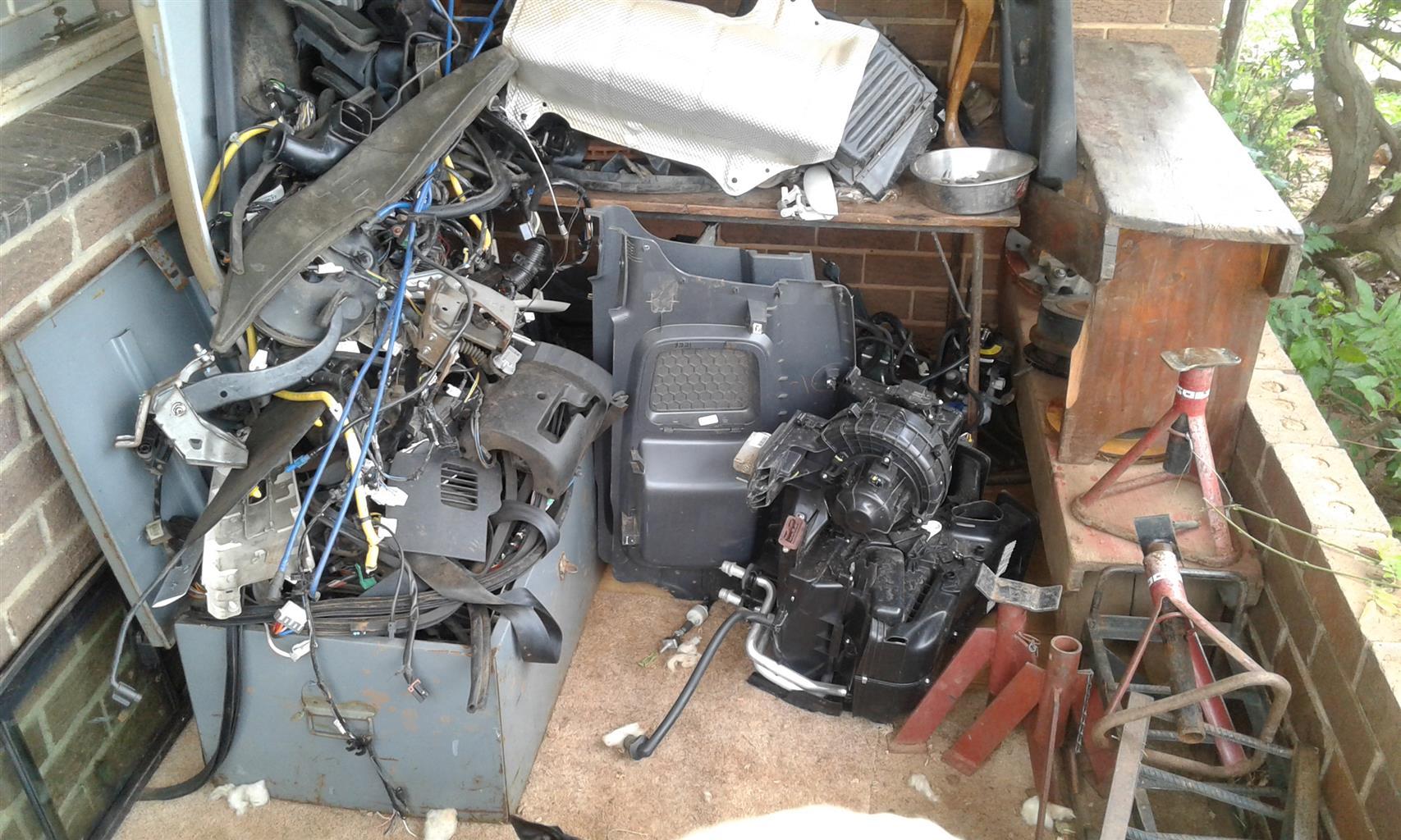 Hyundai i10 &Chev utility parts
