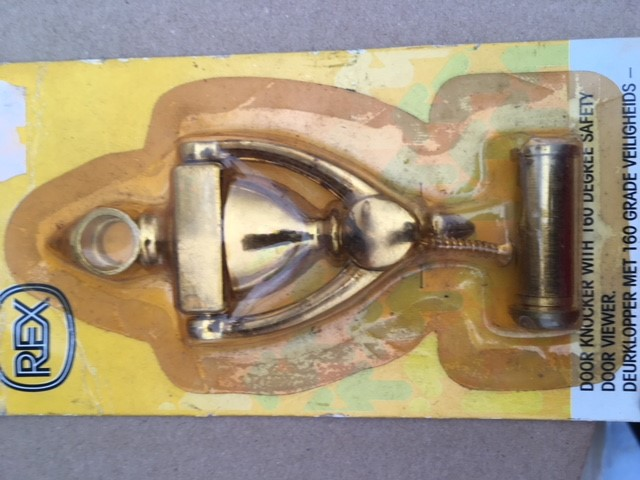 Brass Knocker - New