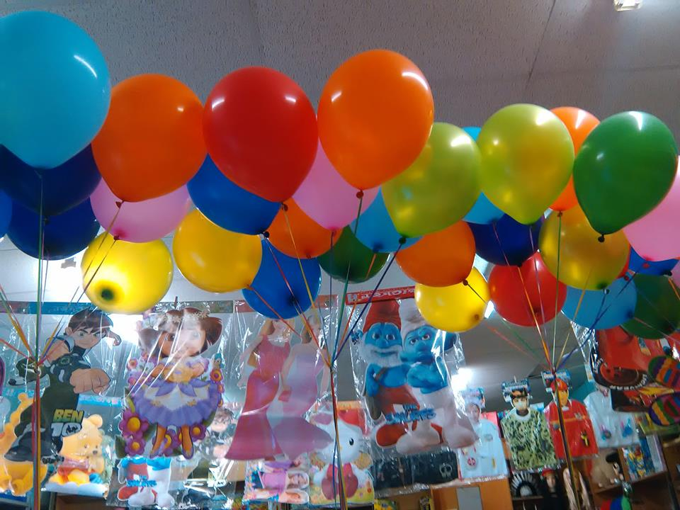 Helium Balloons inflated at your Party/Wedding or any Function (Also Extra Large)