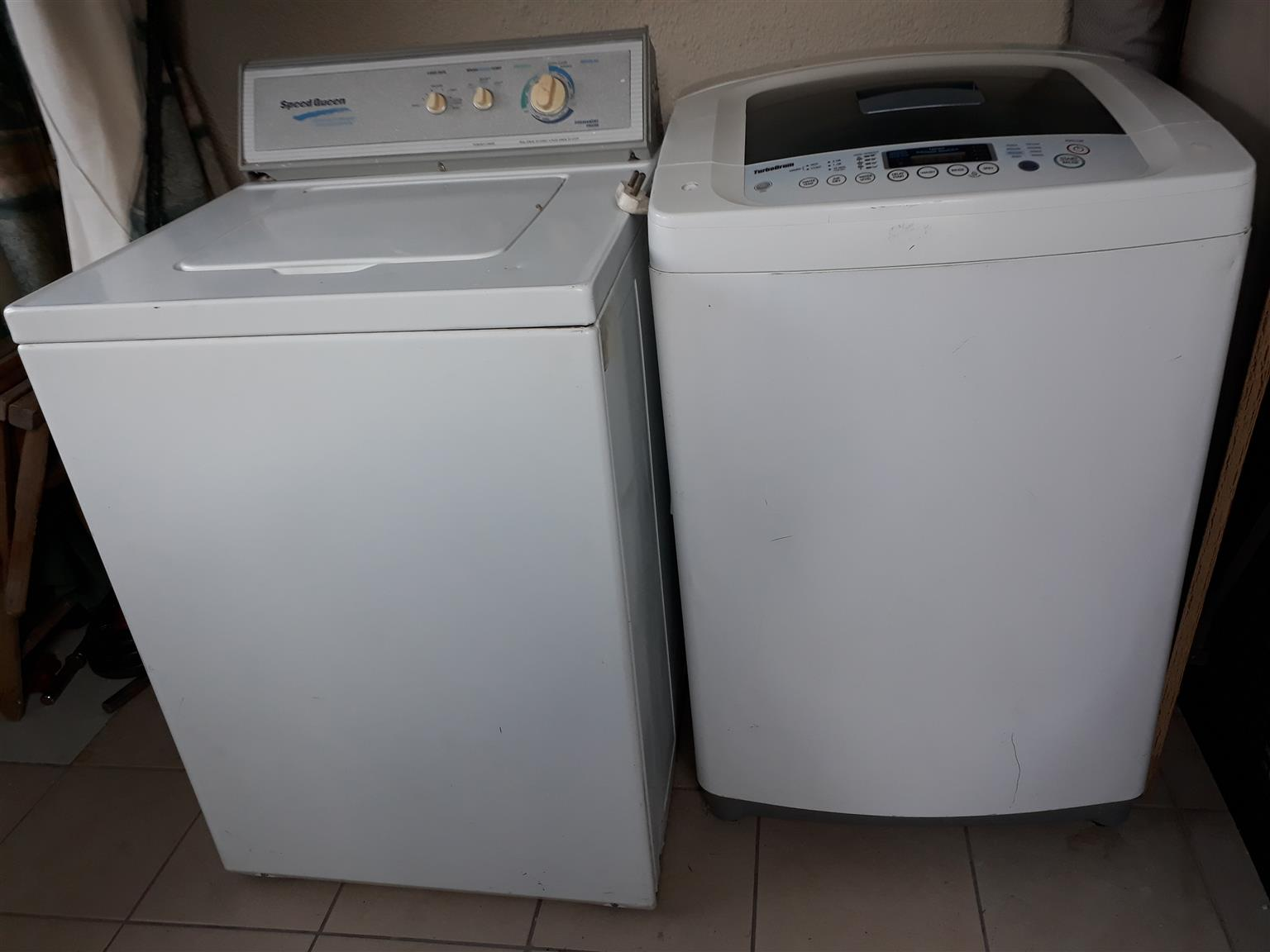 Take 2 washing machines for the price of one