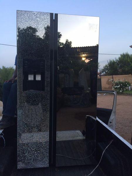 Samsung mirror fridge